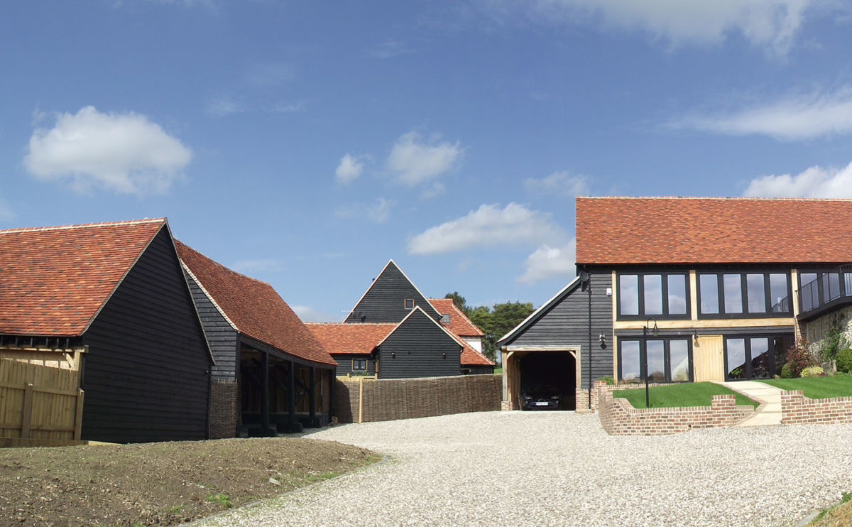 Lifestiles - Handmade Multi Clay Roof Tiles - De Vere, England