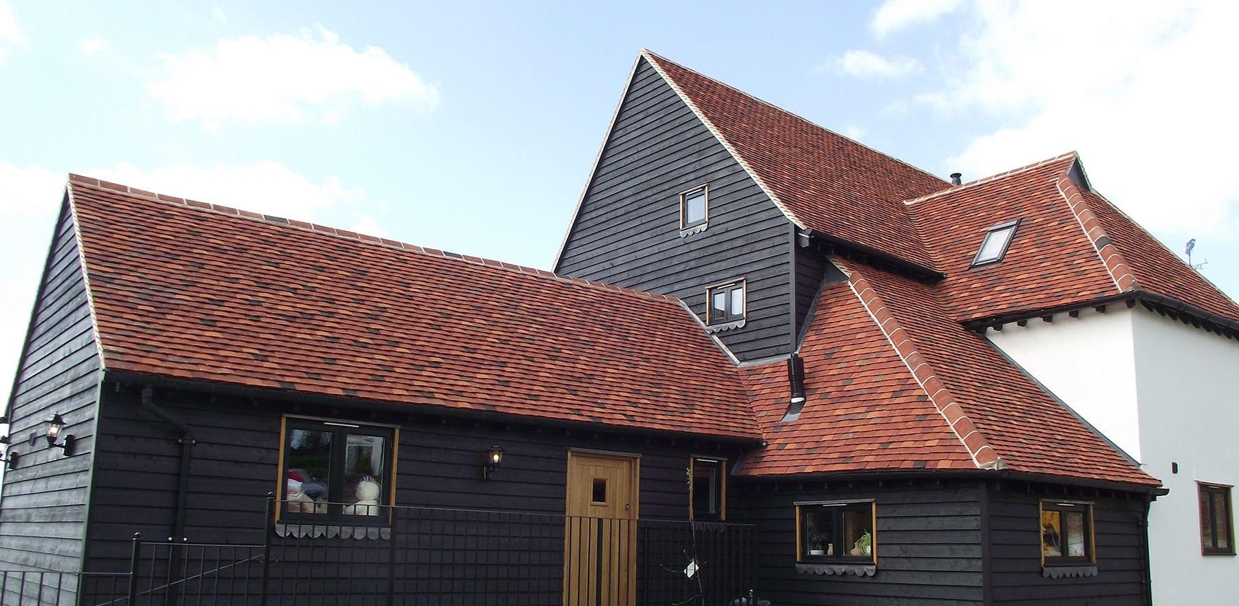 Lifestiles - Handmade Multi Clay Roof Tiles - De Vere, England 3