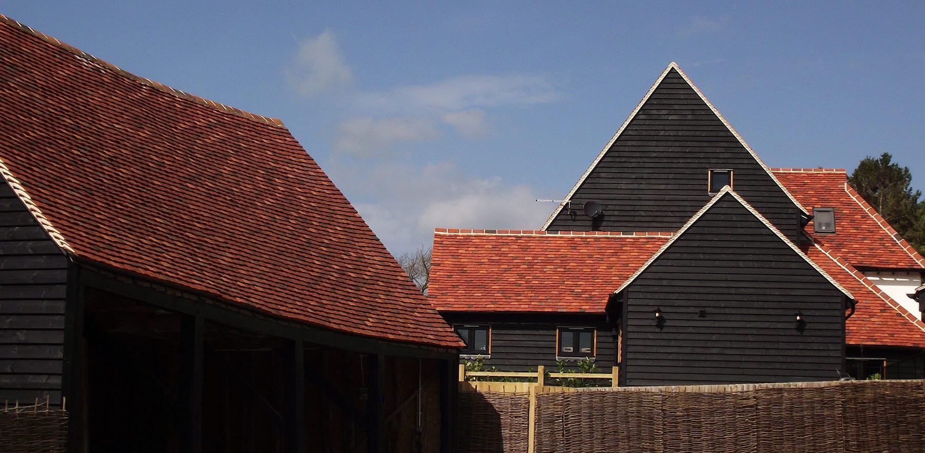 Lifestiles - Handmade Multi Clay Roof Tiles - De Vere, England 4