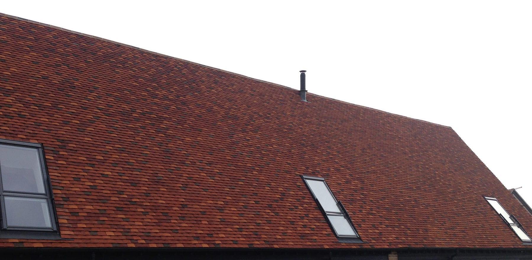 Lifestiles - Handmade Multi Clay Roof Tiles - De Vere, England 5