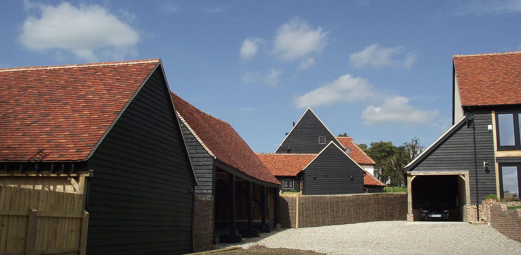 Lifestiles - Handmade Multi Clay Roof Tiles - De Vere, England 6