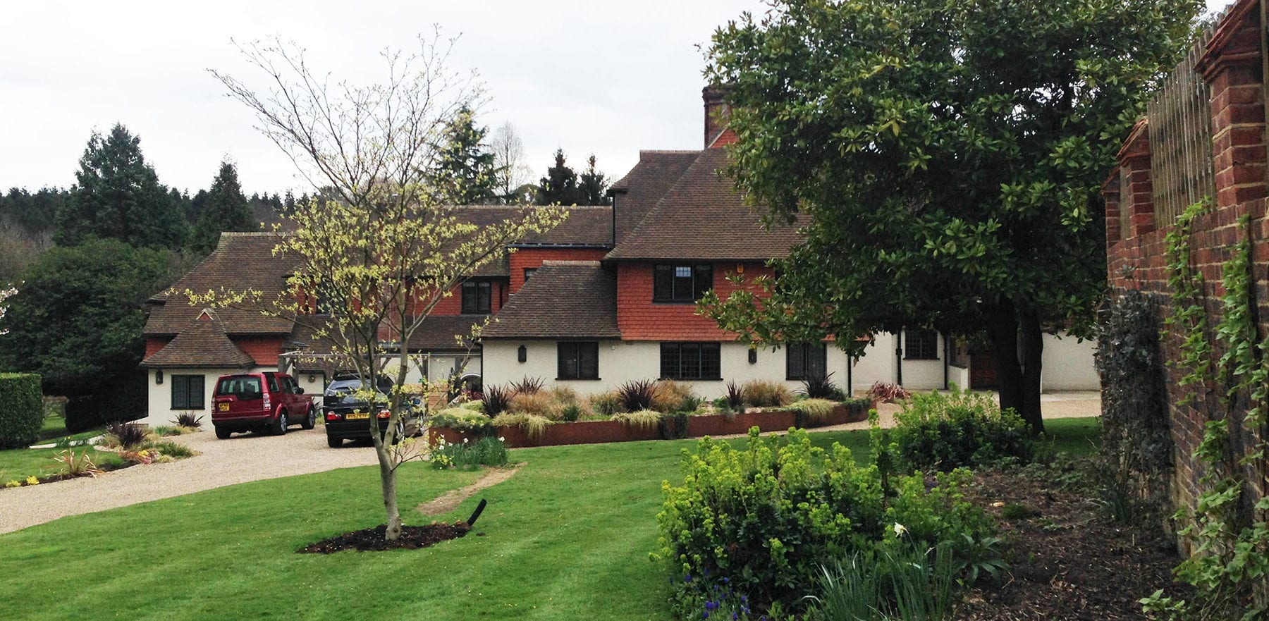 Lifestiles - Handmade Restoration Clay Roof Tiles - Dorking, England 2