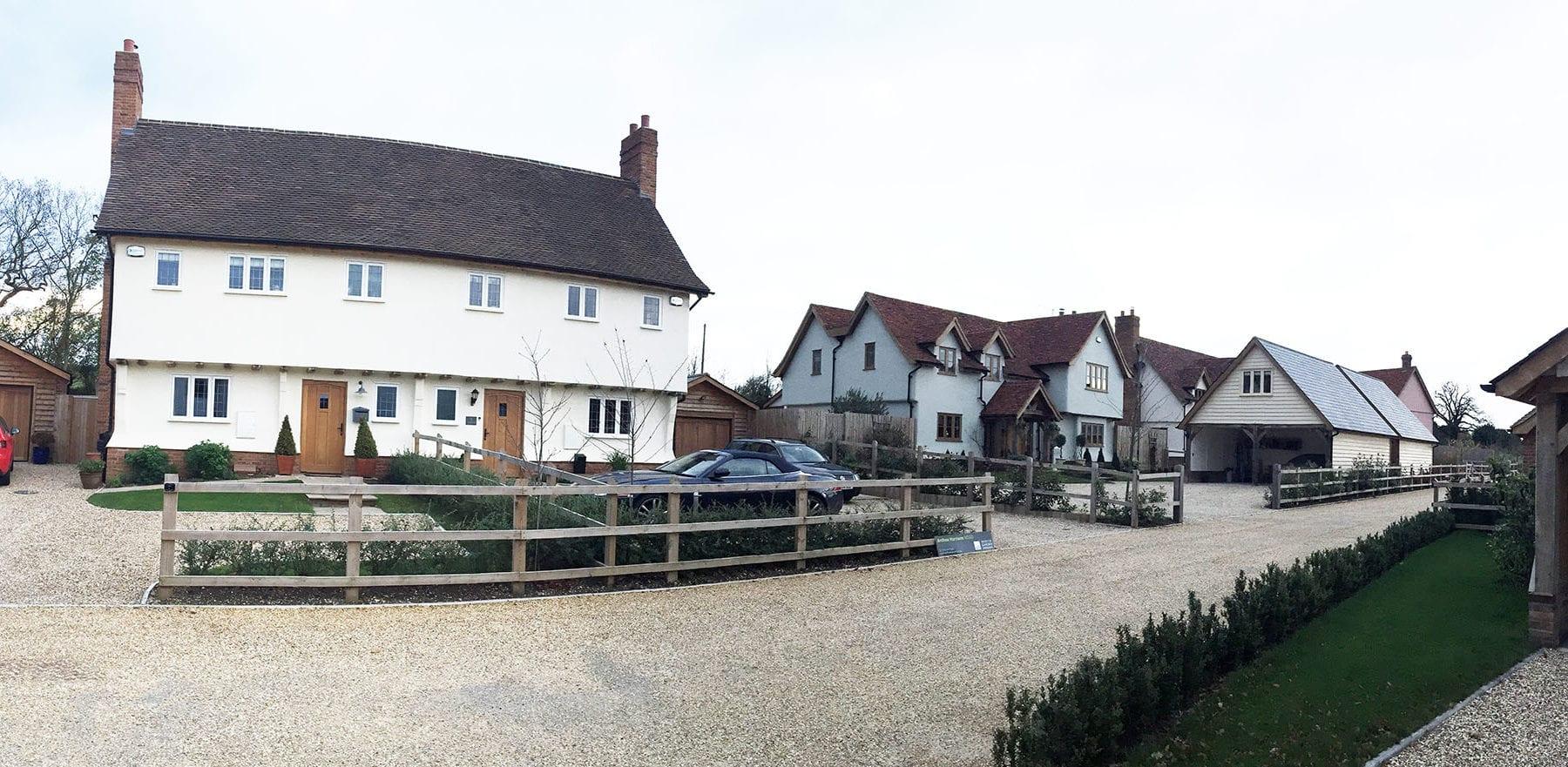 Lifestiles - Handmade Restoration Clay Roof Tiles - Manuden, England 2