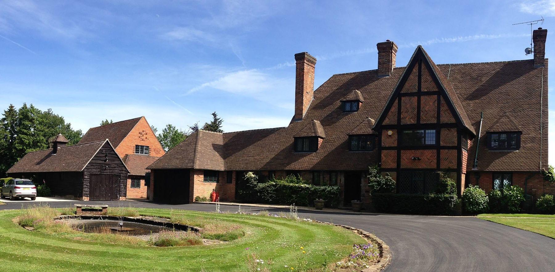 Lifestiles - Handmade Restoration Clay Roof Tiles - Poisenesters, England 2