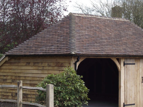 Lifestiles - Handmade Restoration Clay Roof Tiles - Cart Lodge, England