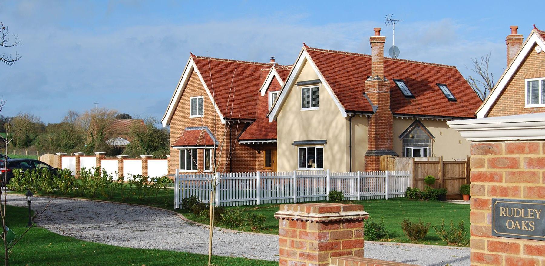 Lifestiles - Handmade Red Clay Roof Tiles - Rudley Oaks, England