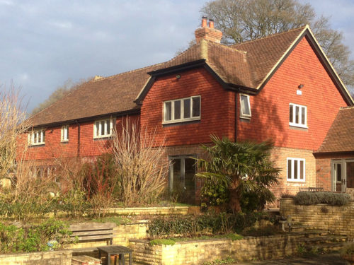 Lifestiles - Handmade Red Clay Roof Tiles - Crondall, England