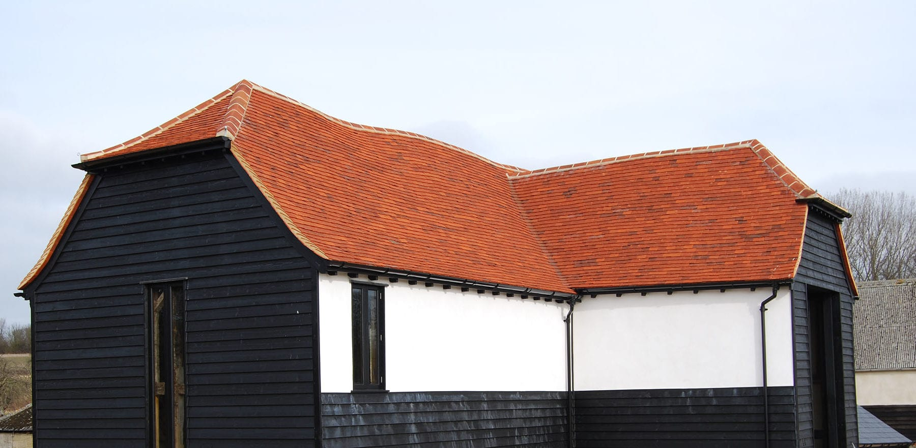 Lifestiles - Handmade Red Clay Roof Tiles - Saffron Walden, England