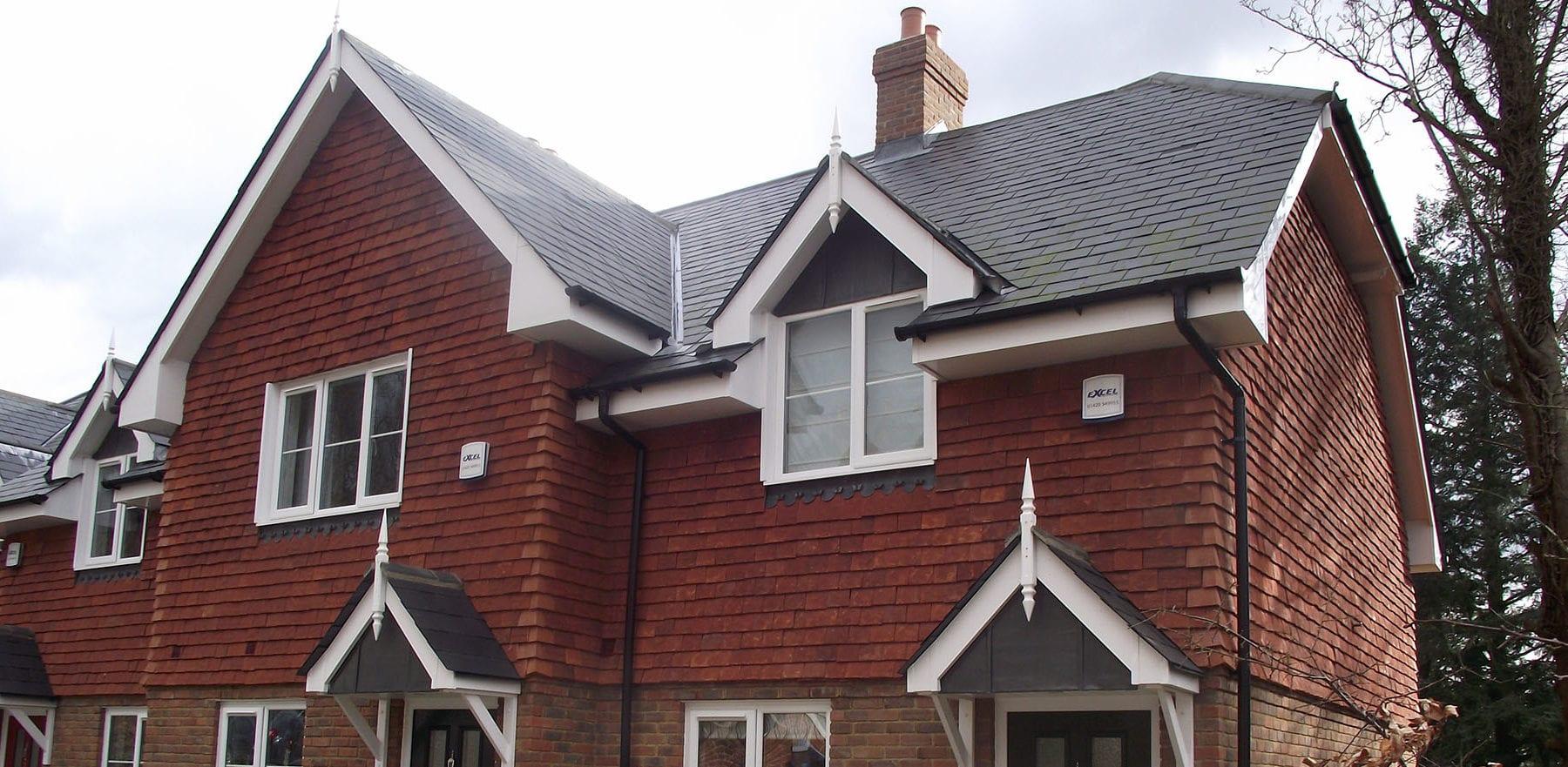 Lifestiles - Handmade Red Clay Roof Tiles - Frensham, England