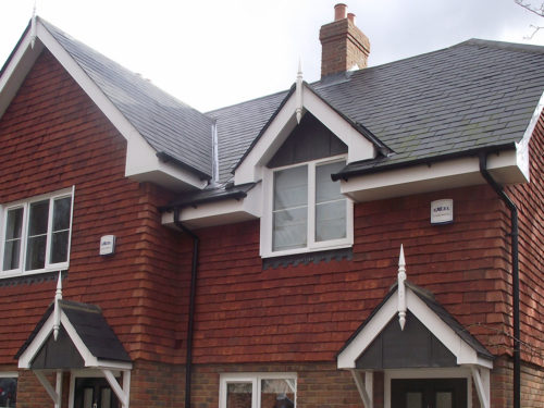 Lifestiles - Handmade Red Clay Roof Tiles - Frensham, England