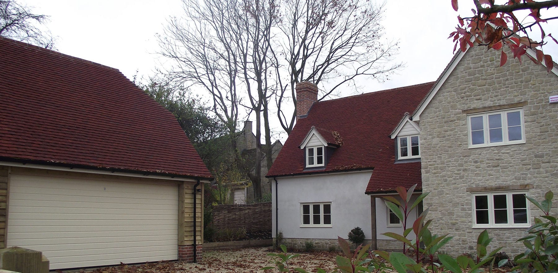 Lifestiles - Handmade Heather Clay Roof Tiles - Favant, England