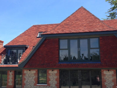 Lifestiles - Handmade Heather Clay Roof Tiles - Surrey, England