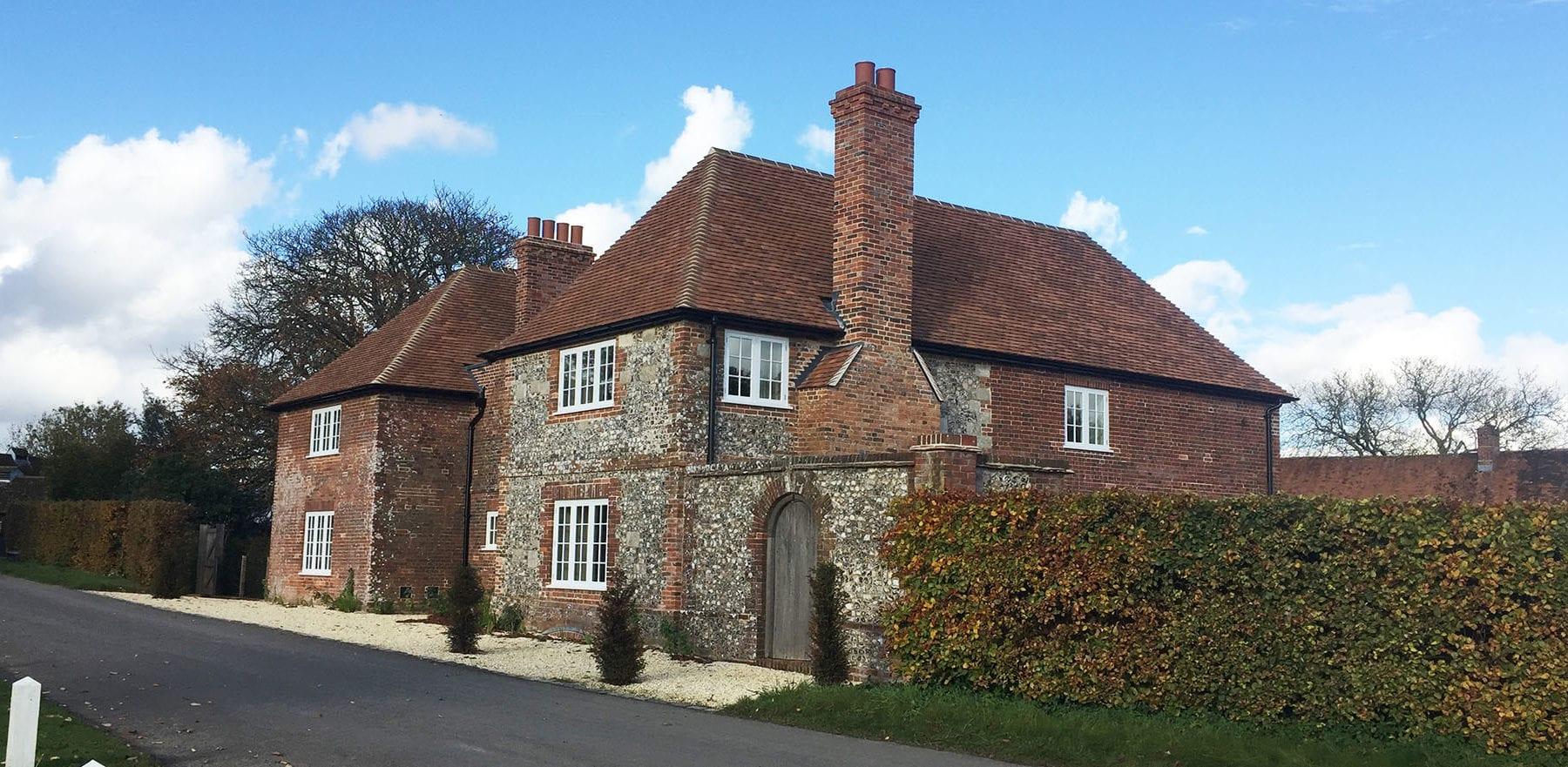 Lifestiles - Handmade Heather Clay Roof Tiles - Barlow, England