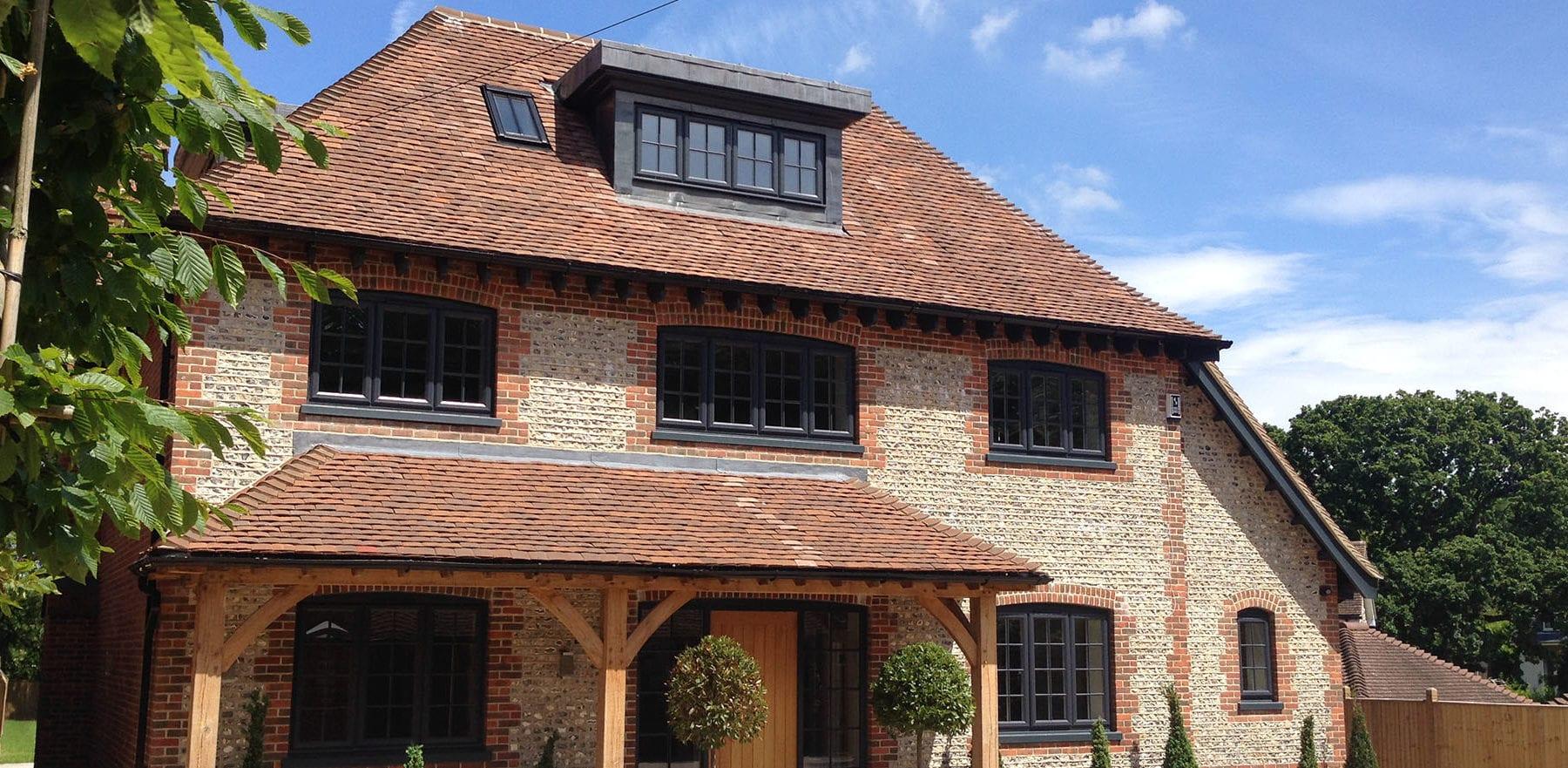 Lifestiles - Handmade Brown Clay Roof Tiles - Bosham, England
