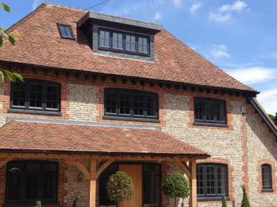 Lifestiles - Handmade Brown Clay Roof Tiles - Bosham, England