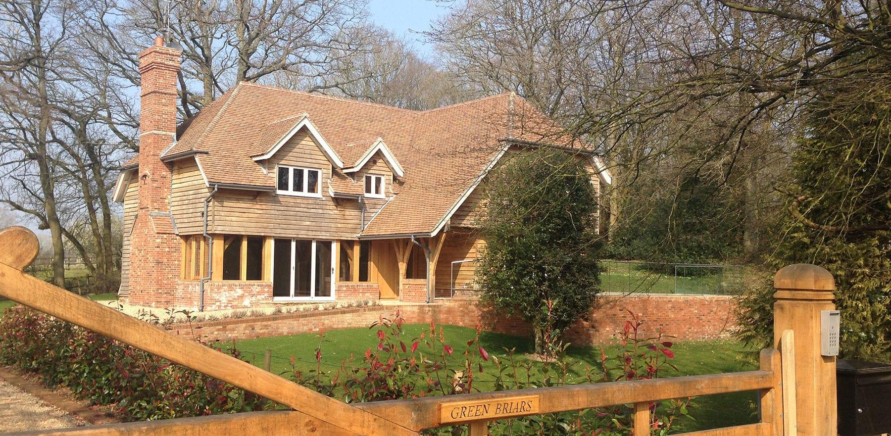 Lifestiles - Handmade Brown Clay Roof Tiles - Cranbrook, England