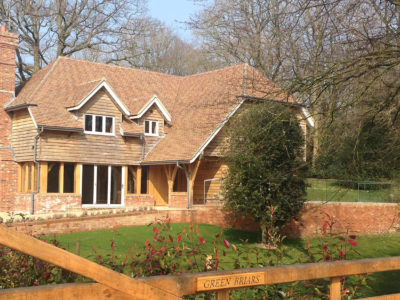 Lifestiles - Handmade Brown Clay Roof Tiles - Cranbrook, England