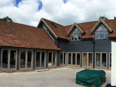 Lifestiles - Handmade Brown Clay Roof Tiles - Midgham, England
