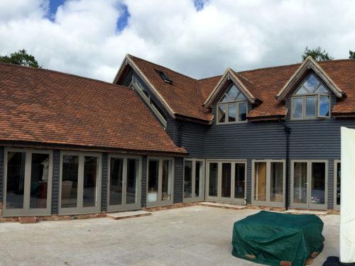 Lifestiles - Handmade Brown Clay Roof Tiles - Midgham, England