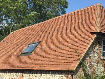 Lifestiles - Handmade Brown Clay Roof Tiles - Stockbridge, England