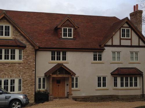 Lifestiles - Handmade Brown Clay Roof Tiles - Sunningdale, England