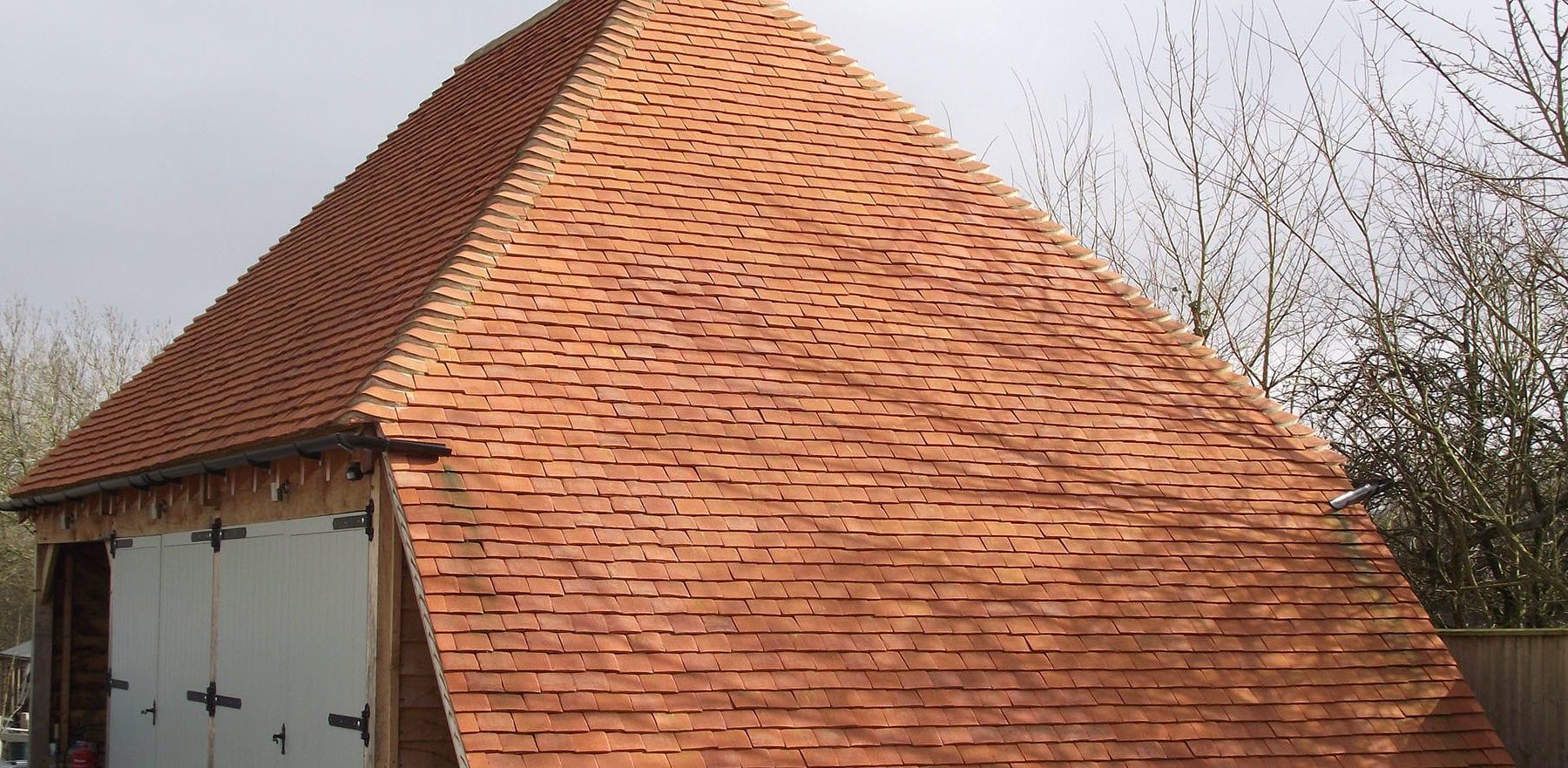 Lifestiles - Handmade Orange Clay Roof Tiles - Baughurst, England 5
