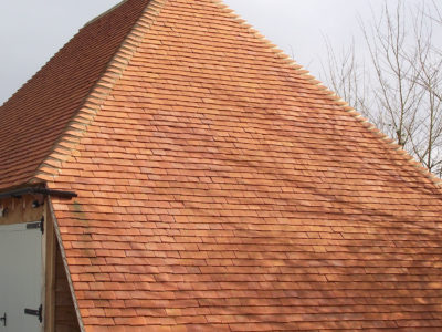 Lifestiles - Handmade Orange Clay Roof Tiles - Baughurst, England 5