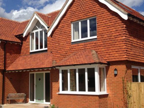 Lifestiles - Handmade Orange Clay Roof Tiles - Bookham, England