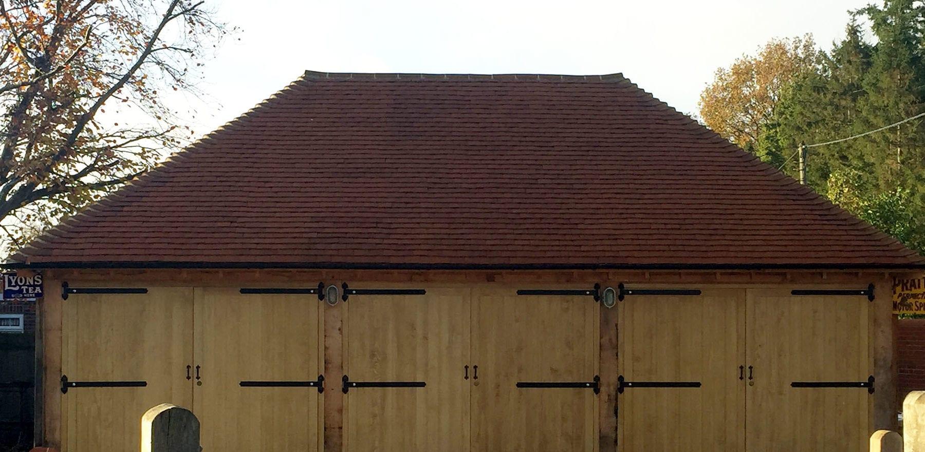 Lifestiles - Handmade Orange Clay Roof Tiles - Bramley, England