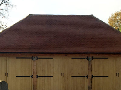 Lifestiles - Handmade Orange Clay Roof Tiles - Bramley, England