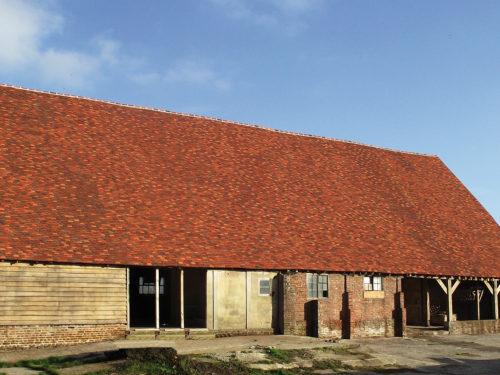 Lifestiles - Handmade Bespoke Clay Roof Tiles - Pelsham Barns, England