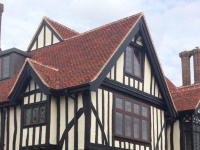 Lifestiles - Handmade Bespoke Clay Roof Tiles - Tudor Park, England