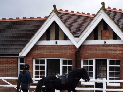 Lifestiles - Handcrafted Autumn Clay Roof Tiles - Bedgebury, England