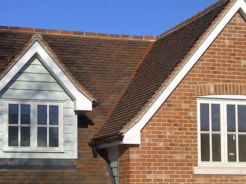 Lifestiles - Handcrafted Autumn Clay Roof Tiles - Hilltop, England