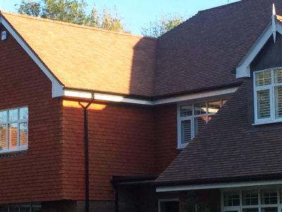 Lifestiles - Handcrafted Pentlow Clay Roof Tiles - Crondall, England