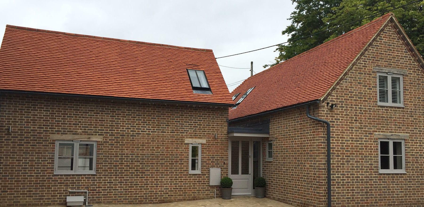 Lifestiles - Handcrafted Orange Clay Roof Tiles - Aston, England