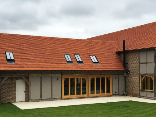 Lifestiles - Handcrafted Orange Clay Roof Tiles - Upthorpe, England