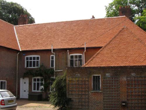 Lifestiles - Handcrafted Orange Clay Roof Tiles - Wisset Hall, England