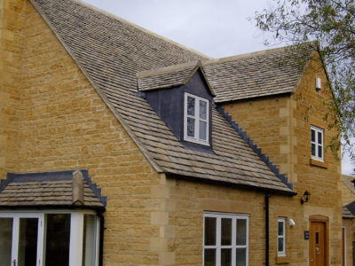 Lifestiles - Natural Stone Aged Roof Tiles - Cirencester, England