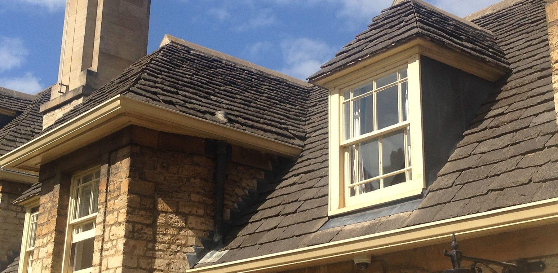 Lifestiles - Natural Stone Aged Roof Tiles - Oxford University, England