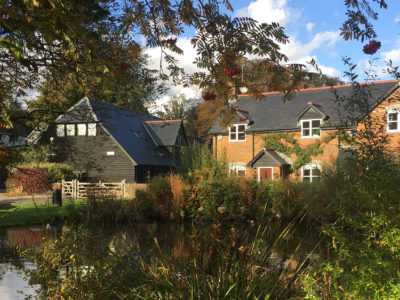 Lifestiles - Spanish Natural Slate Roof Tiles - Duck Pond Cottage, England