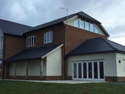 Lifestiles - Spanish Natural Slate Roof Tiles - Manuden, England