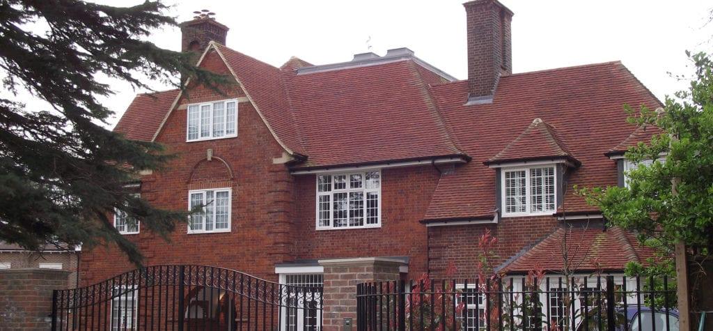 Lifestiles - Handmade Heather Clay Roof Tiles - Bickley, England