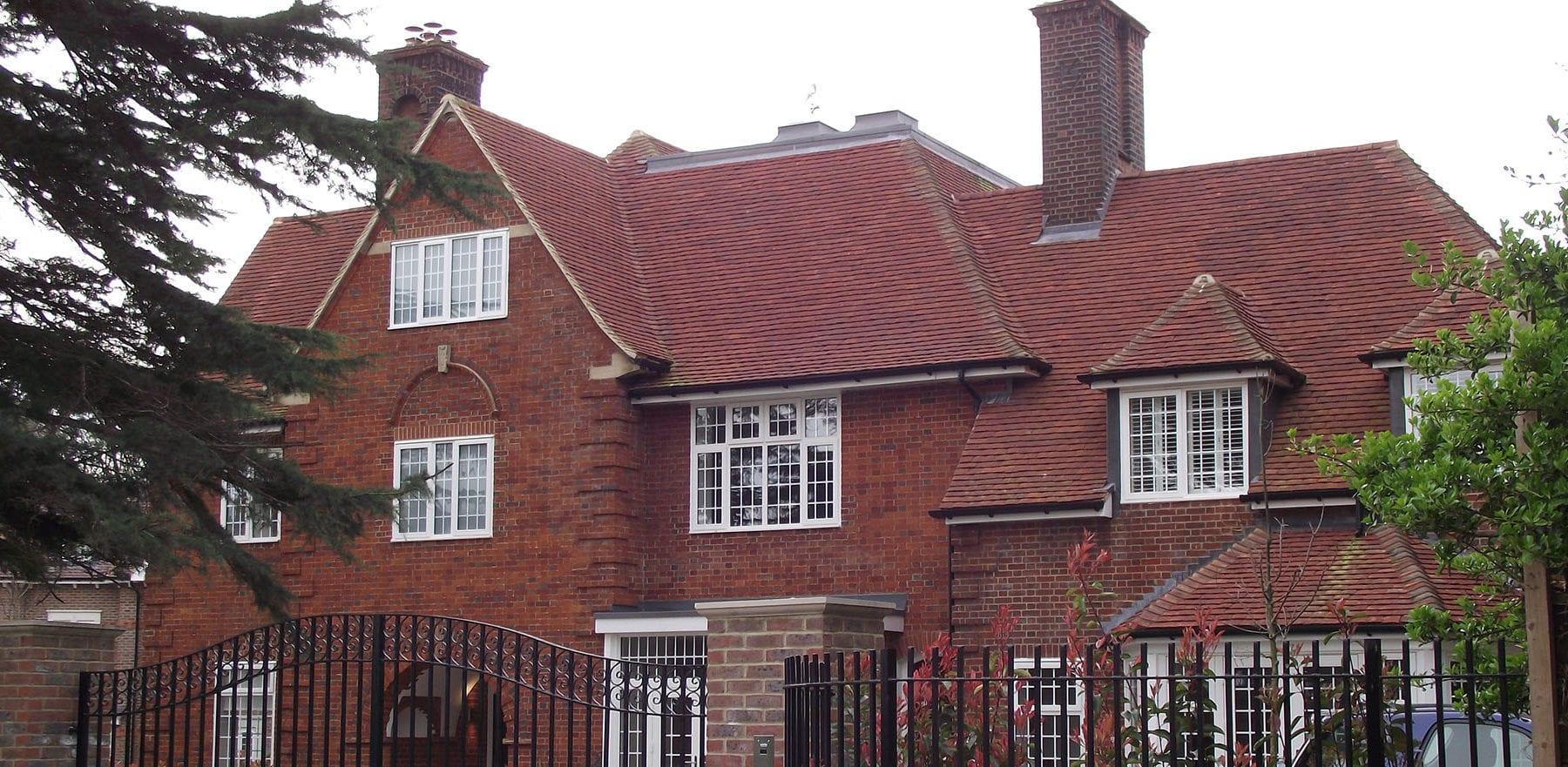 Lifestiles - Handmade Heather Clay Roof Tiles - Bickley, England 2