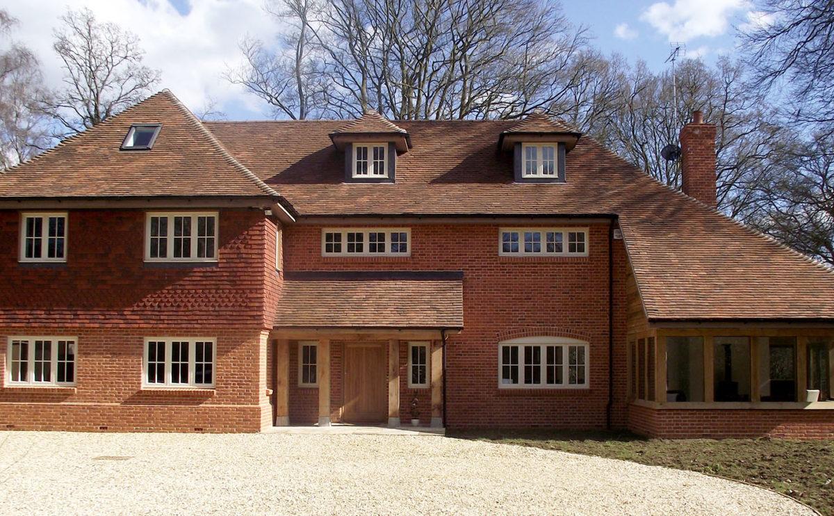 Lifestiles - Handmade Brown Clay Roof Tiles - Romsey, England