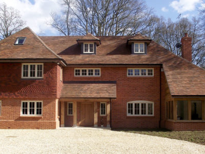 Lifestiles - Handmade Brown Clay Roof Tiles - Romsey, England