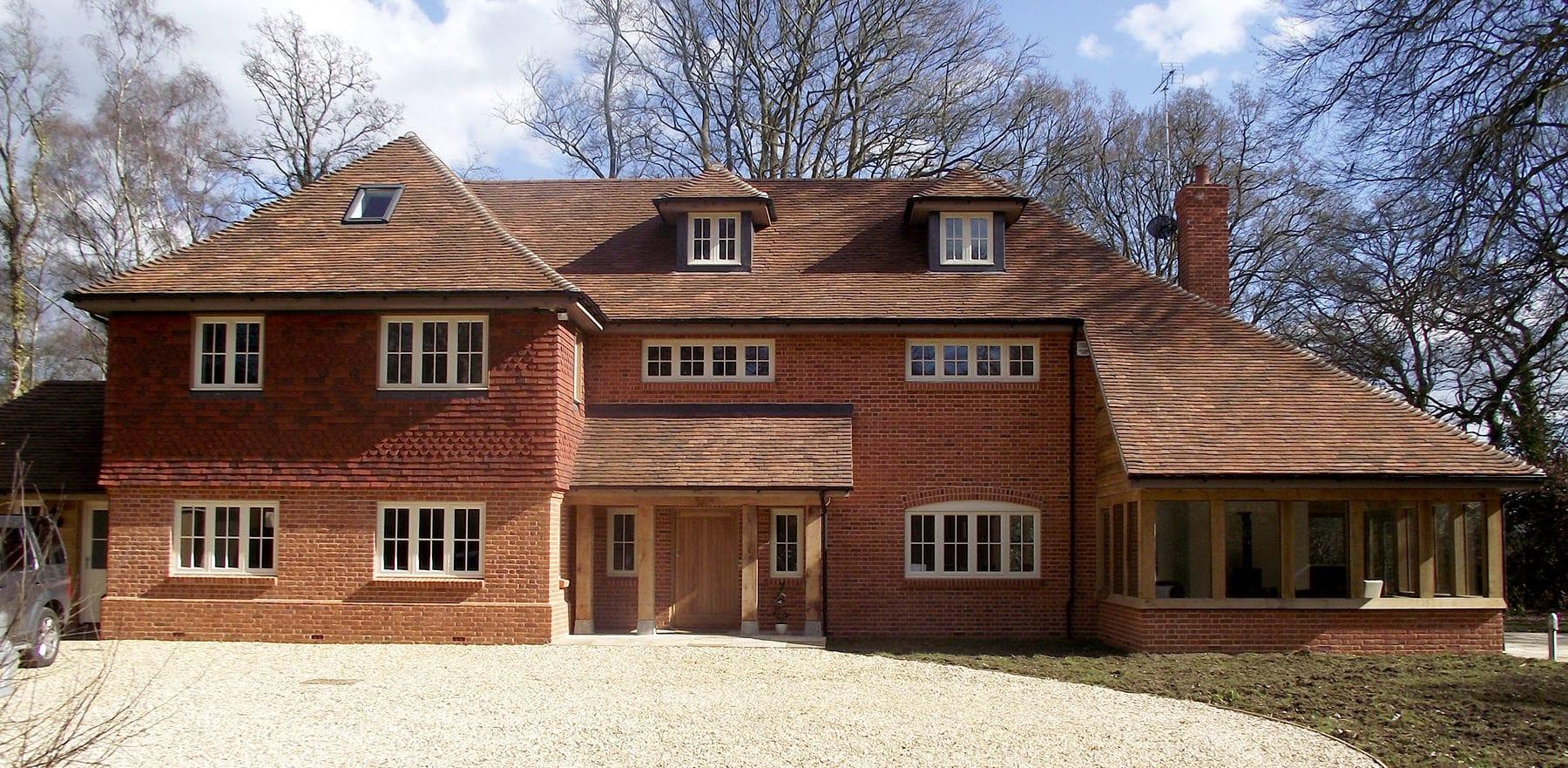 Lifestiles - Handmade Brown Clay Roof Tiles - Romsey, England 2