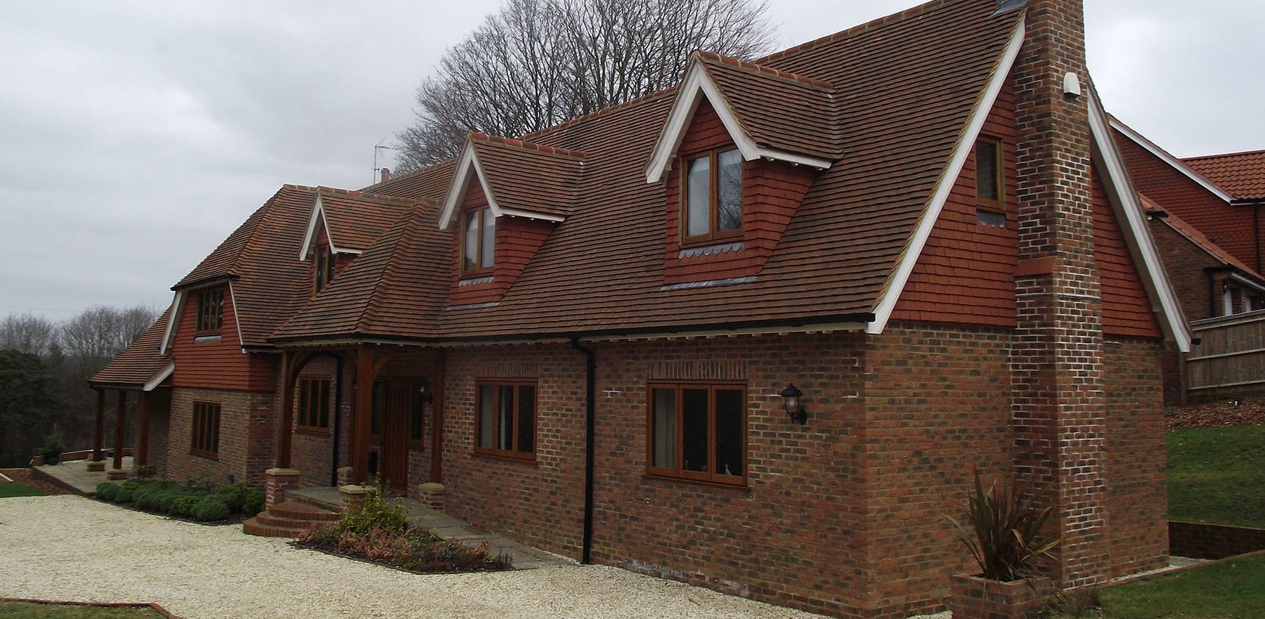 Lifestiles - Handcrafted Autumn Clay Roof Tiles - Sussex, England 2