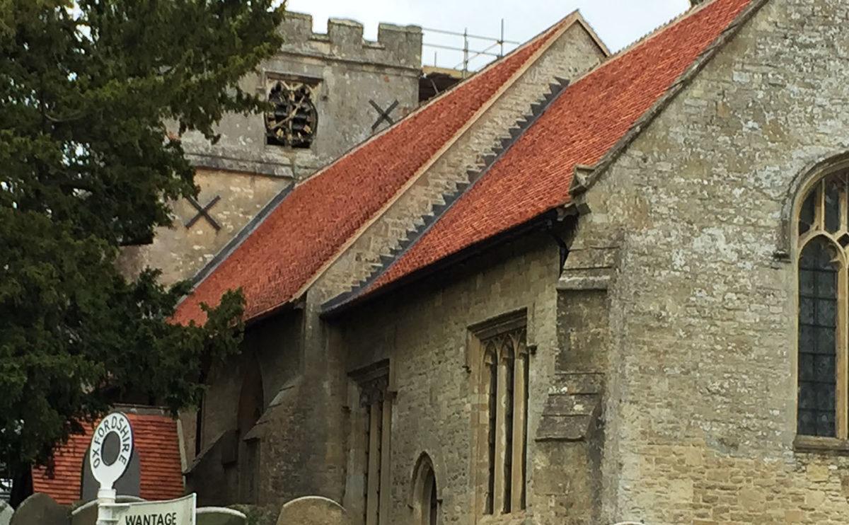 Lifestiles - Handcrafted Orange Clay Roof Tiles - Letcombe, England