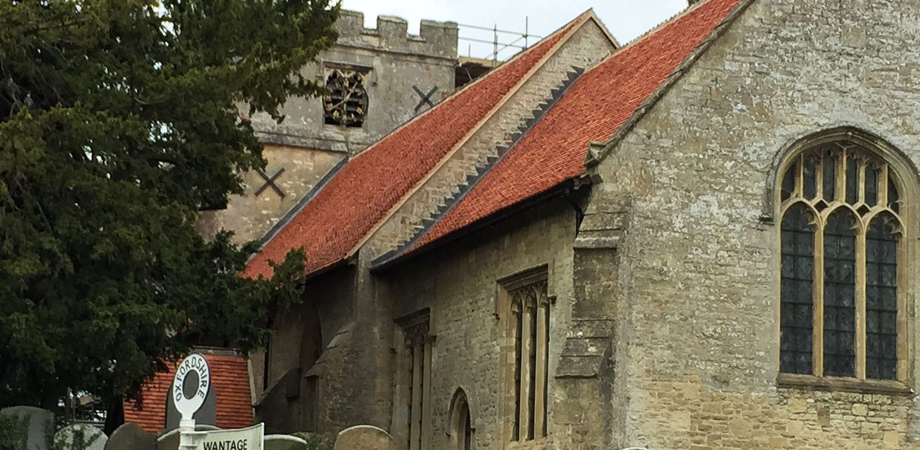 Lifestiles - Handcrafted Orange Clay Roof Tiles - Letcombe, England 2